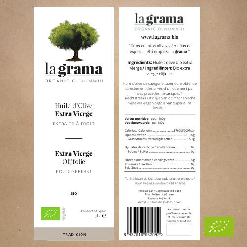 La Grama Organic Coupage 3l – bag-in-box